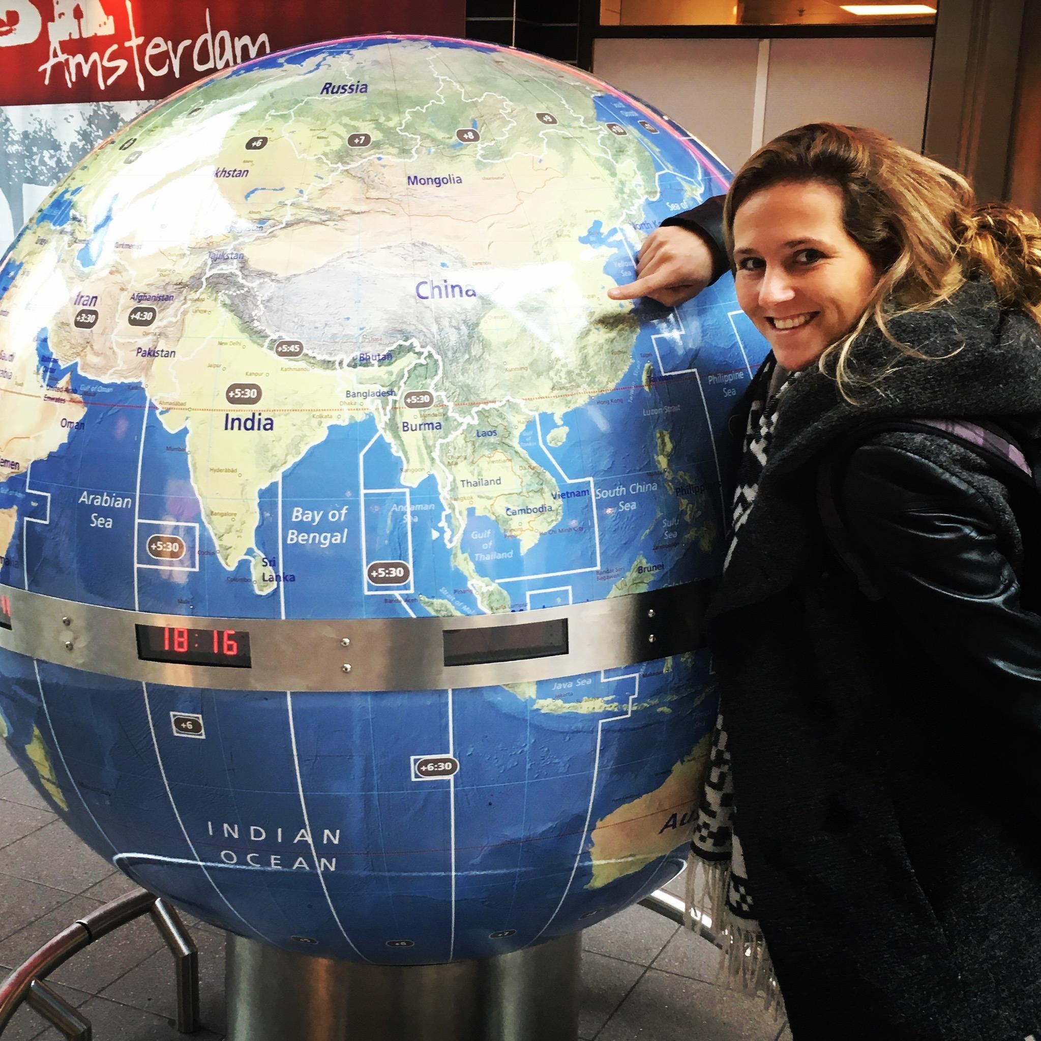 Wereld reizen