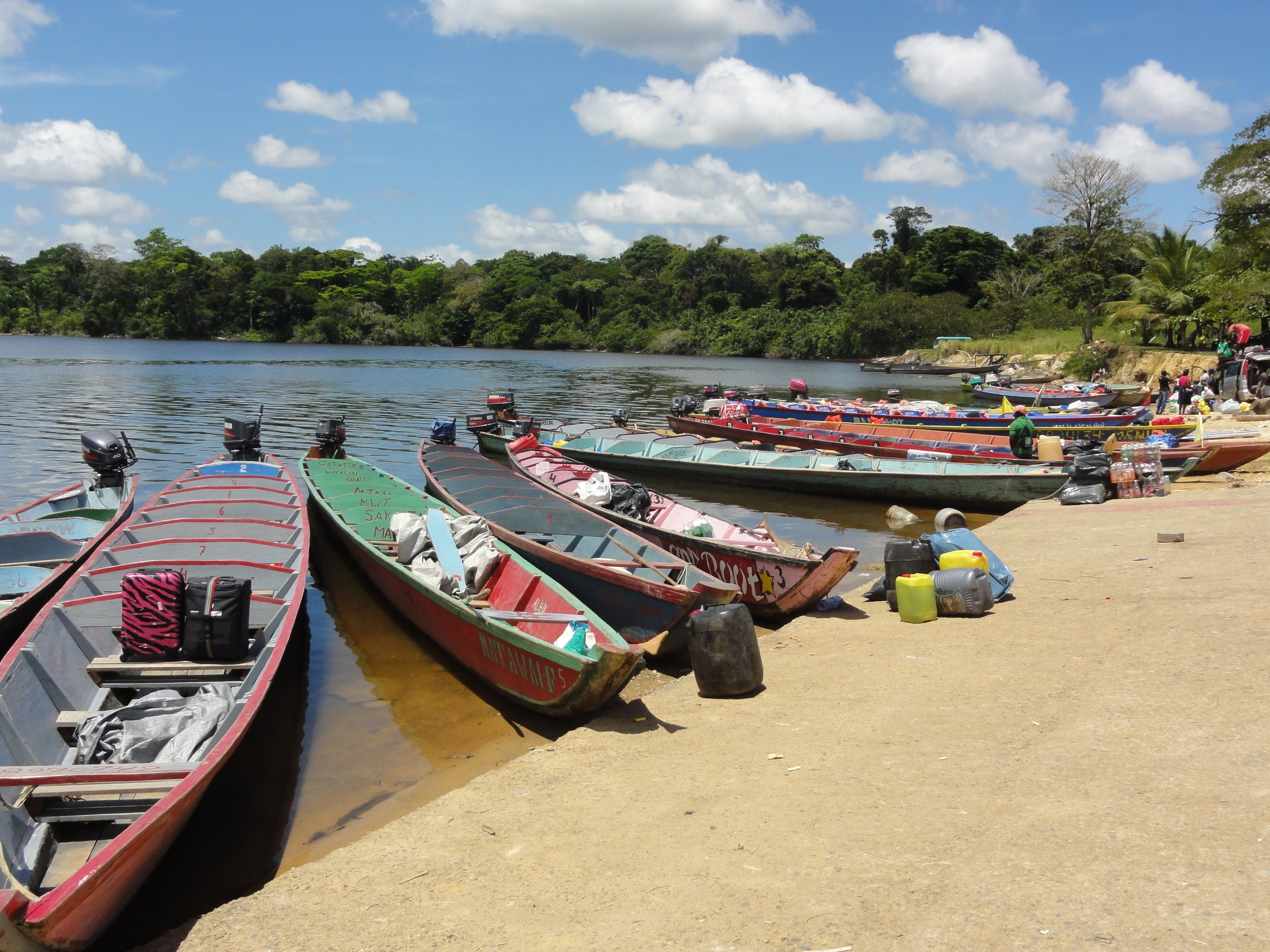 Haventje Atjonie Suriname