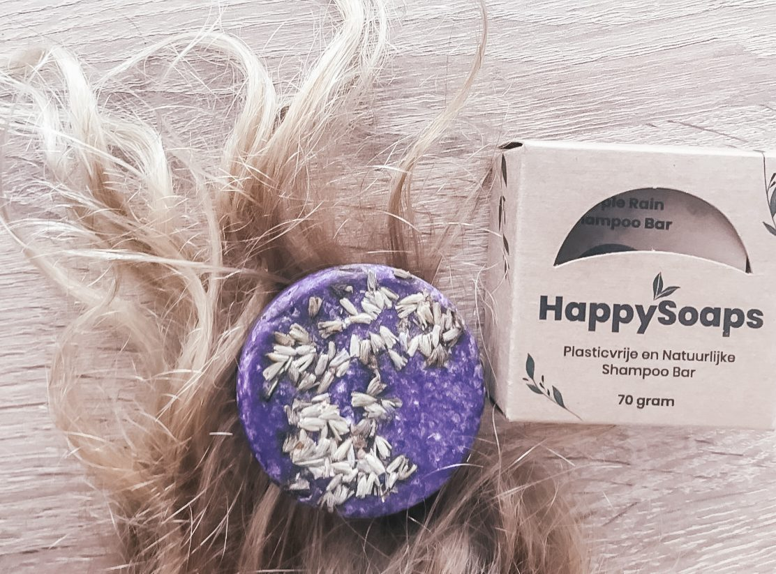 Happy soaps shampoo bar